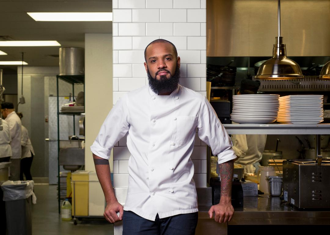 Chef Justin Sutherland // Photo via Fire & Whiskey Facebook