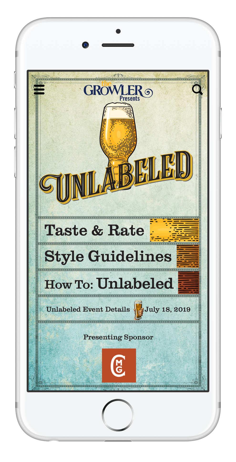 The Growler Presents Unlabeled A Blind Tasting Beer Festival