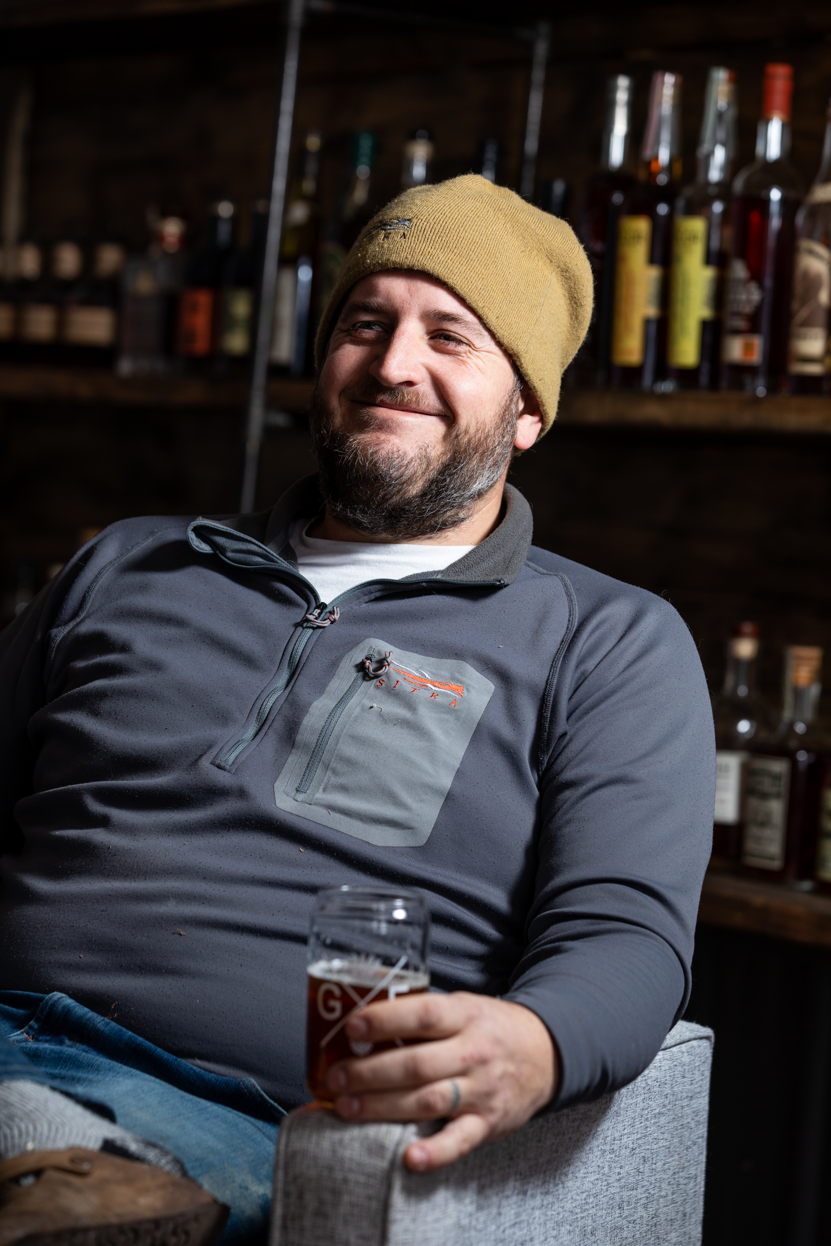 Former Twins Pitcher Glen Perkins poses for a portrait in Lakeville // Photo by Tj Turner
