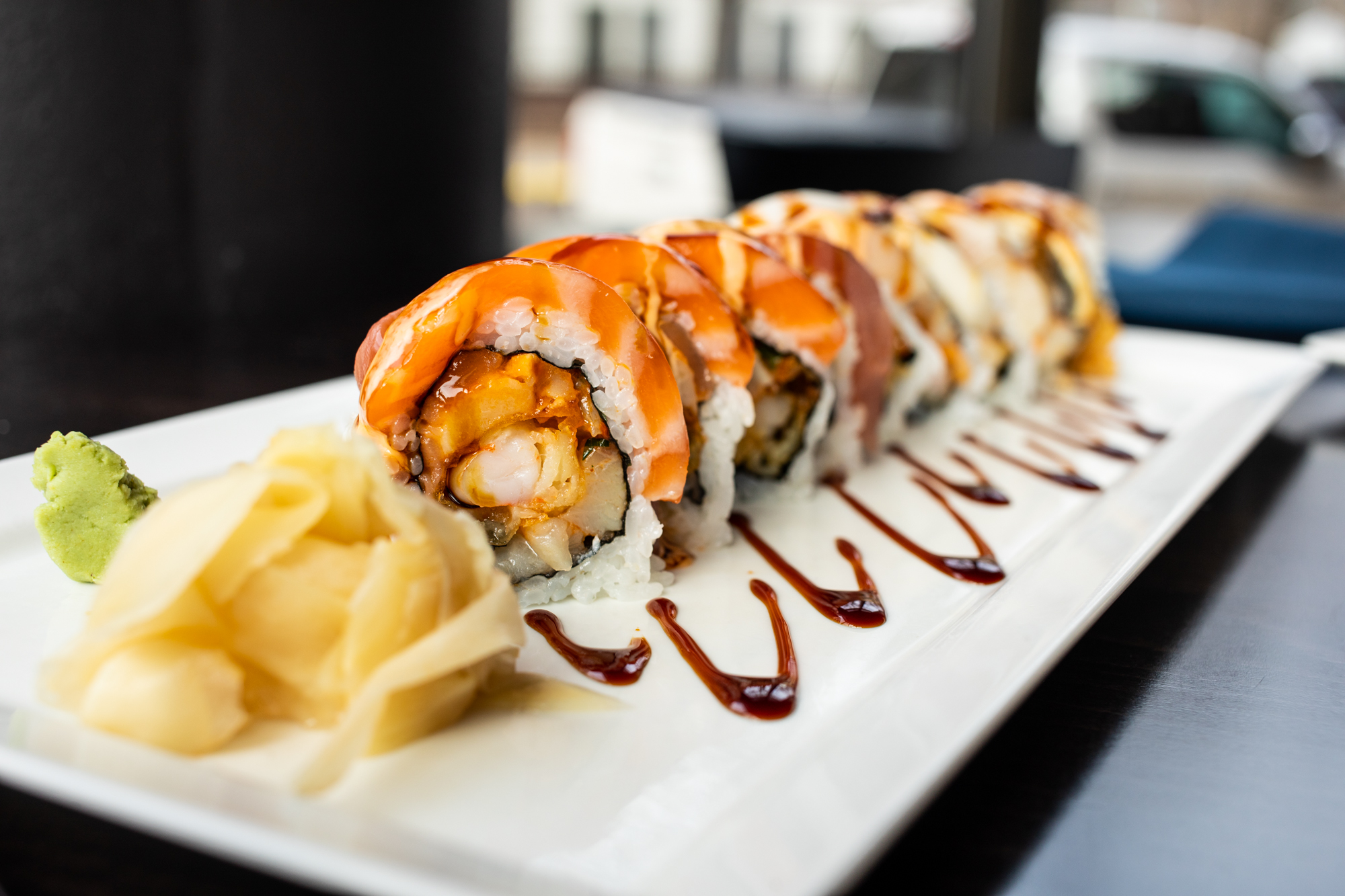 The sushi is quantifiably bigger at Yumi, the new restaurant in St. Paul // Photo by Tj Turner