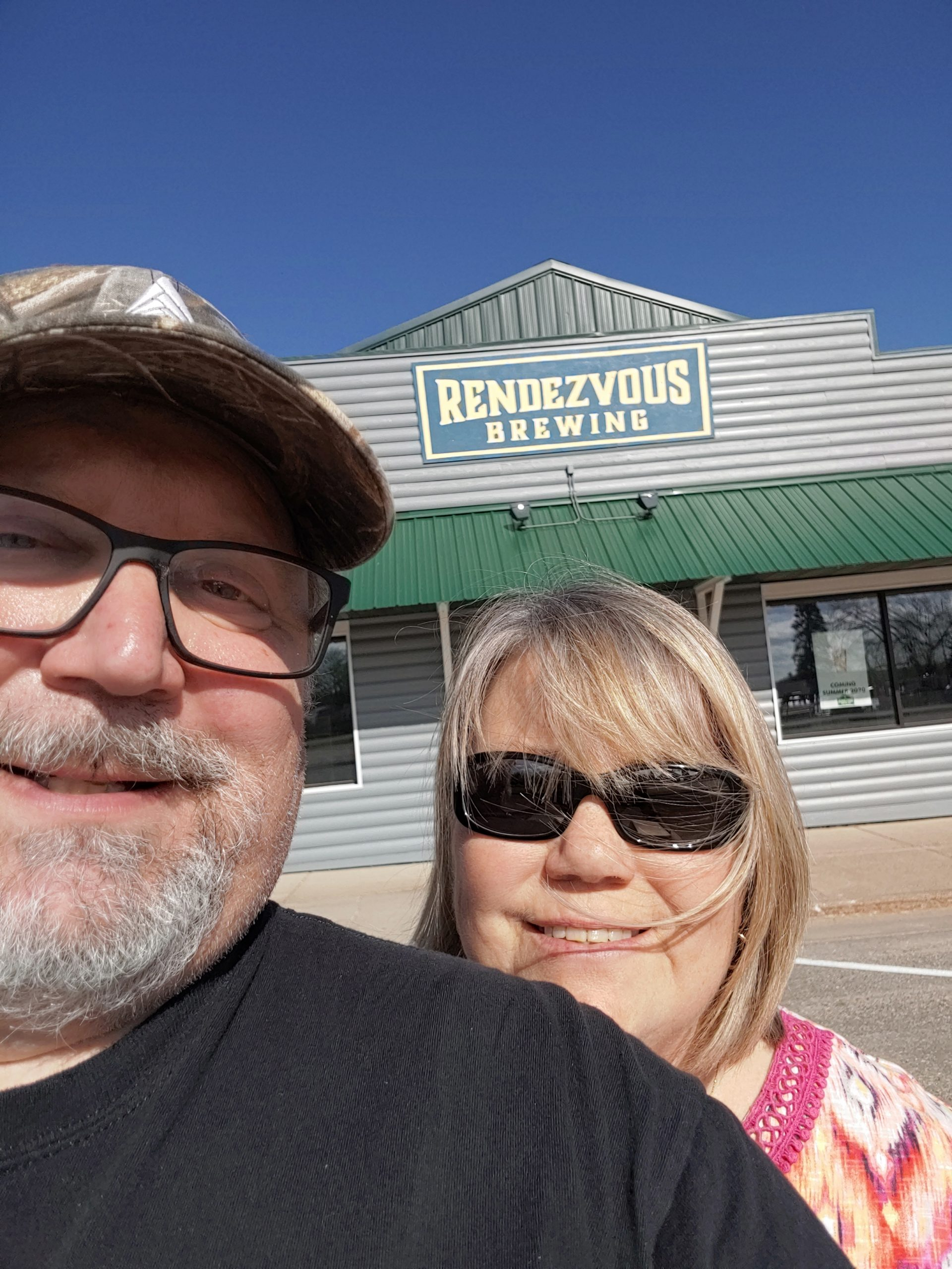 Rendezvous Brewery owners Doug and Sue Toth // Photo courtesy Rendezvous Brewery