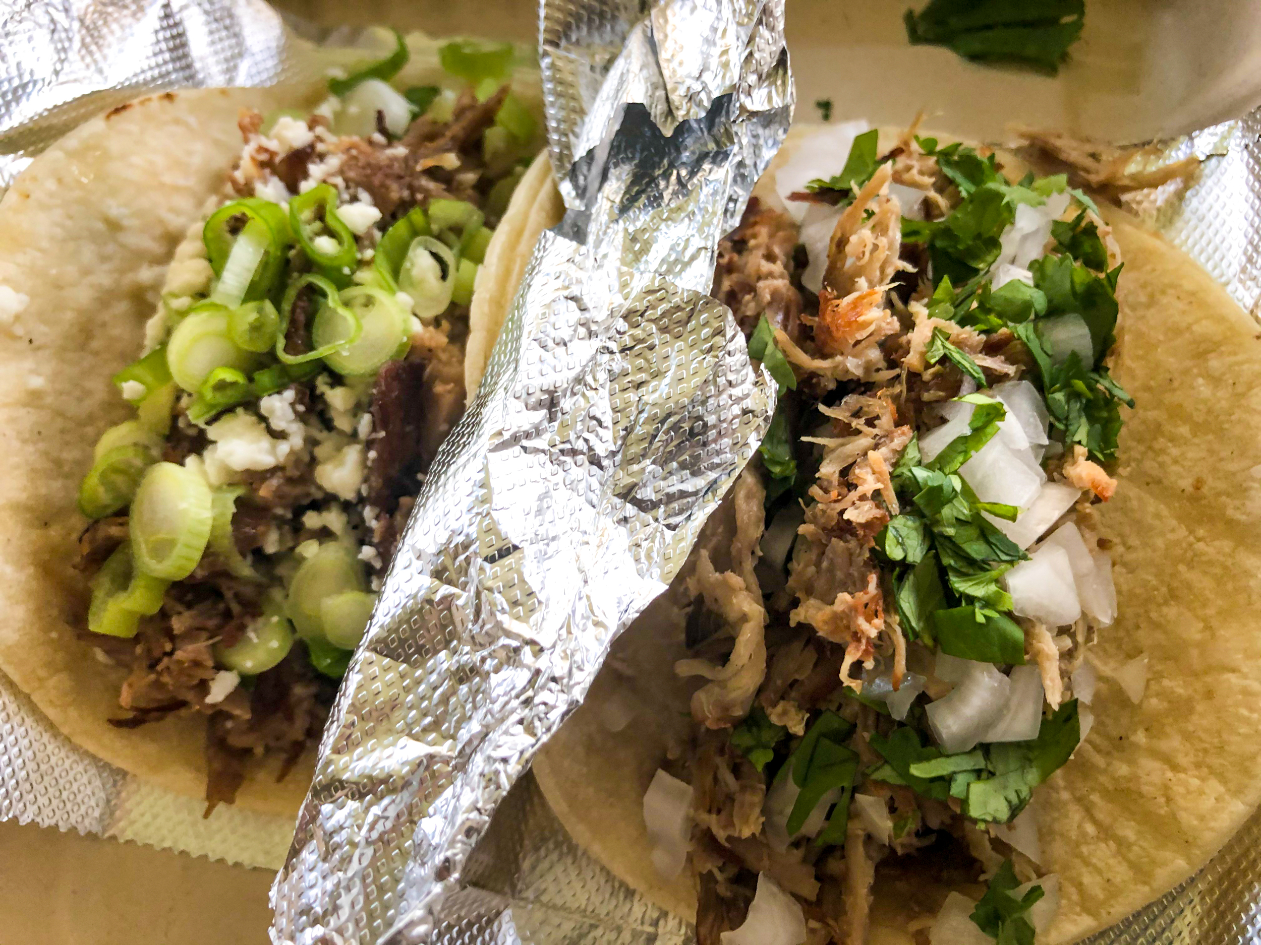 The Best Pork Taco at Yeah Yeah Taco // Photo by James Norton