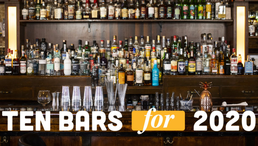 10 Bars for 2020