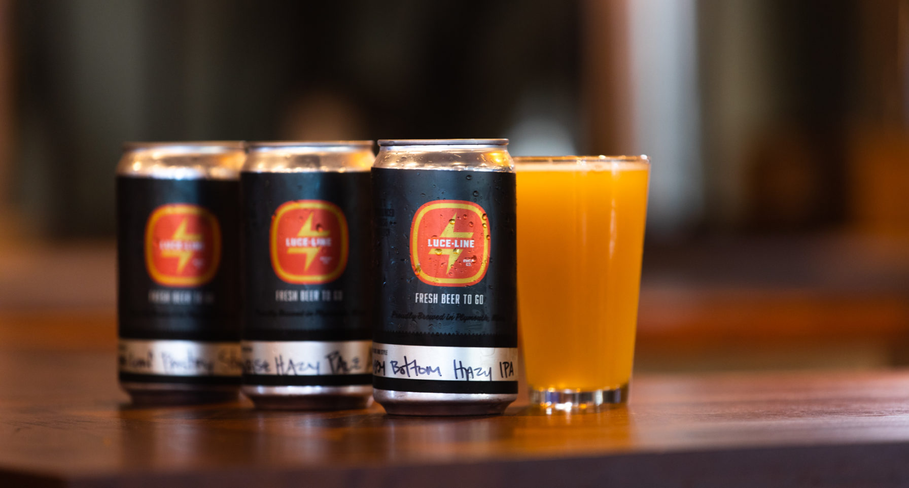 Now Open: Luce Line Brewing in Plymouth